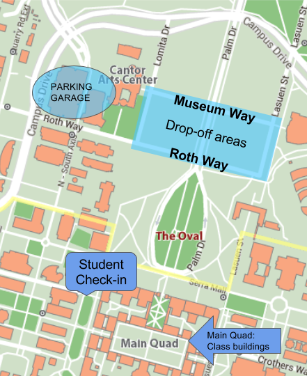 Splash campus map